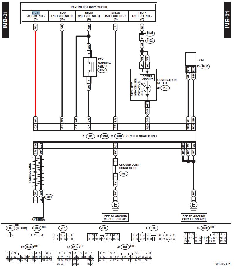 Subaru Legacy Forums Mobile Wiring Diagram Subaru Legacy Body Integrated Unit Subaru Legacy